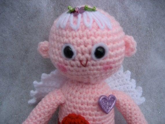 Amigurumi Valentine Pattern : Amigurumi Cupid Valentines Day Crochet Pattern by ...