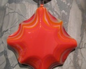 SALE  Fused glass pendant: Santa Fe Star SALE