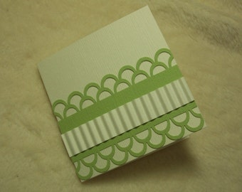 Mini Note Cards...4 Piece Set Very Lovely Mini Note Cards