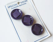 Purple Fashion Buttons