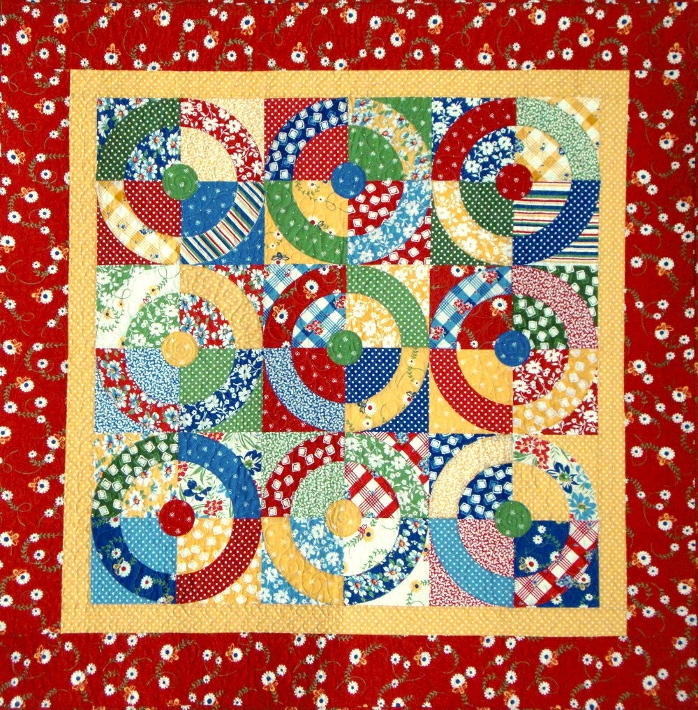 Square Dance Quilt Pattern Easy No Curved Piecing Pdf