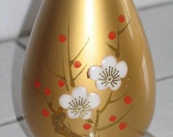 Gold Plum Blossom Vase