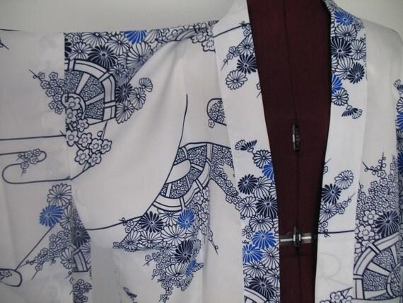 Blue and White Happi Coat