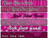 Pink Shop Banner
