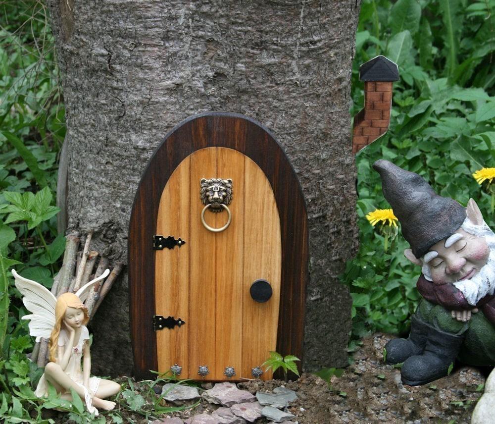 A Fairy Door Gnome Door That Opens 12 Inch By Nothinbutwood