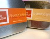 Mens Shampoo Bar with Travel Case.