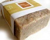 Exfoliating Soap Bar, Oatmeal Scrub Soap, Vegan Bar Soap, Cold Process Soap - RedLeafBathandBody