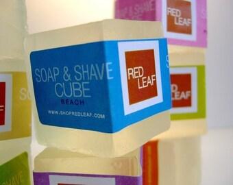 Vegan Shaving Soap Cubes Wholesale Available