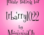 Private listing for trbarry1022