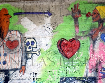 GRAFFITI LOVE card