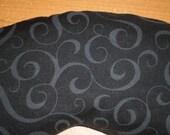 Gray Scroll Adjustable Buckwheat Eye Mask