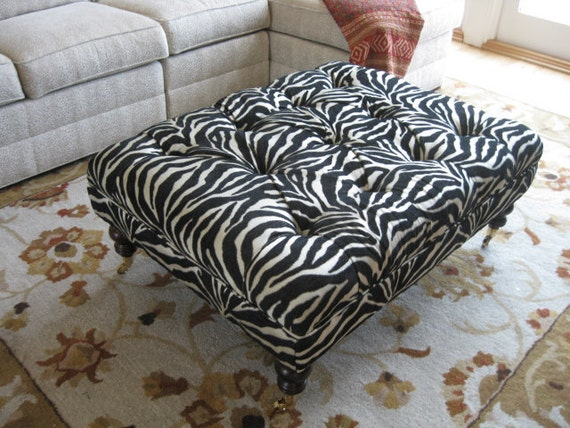 Custom Ottoman for T Bird Private Listing... by Agamedi Designs