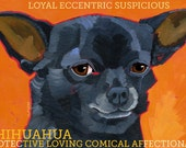 Chihuahua No. 3 - magnets, coasters and art prints