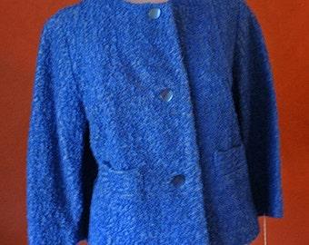 50s SHORT BLUE JACKET
