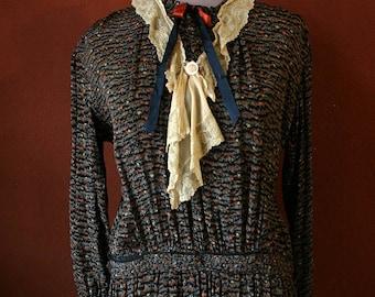 20s SCHOOL TEACHER FLAPPER DRESS