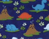 Hoffman Land O Dinos Flannel in Blue