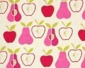 Alexander Henry Apples and Pears - Natural/Pink