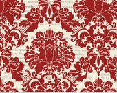 Riley Blake's My Minds Eye Damask in Red
