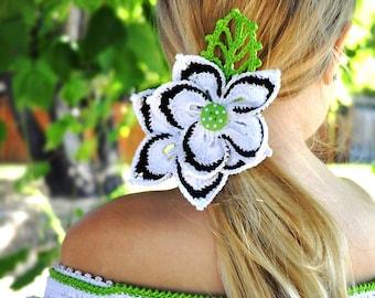 CROCHET PATTERN Faerie Dreams. Wildflower Pin Crochet Pattern in PDF eBook