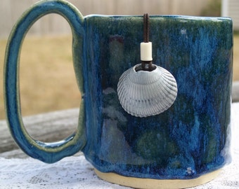Gray Seashell Necklace