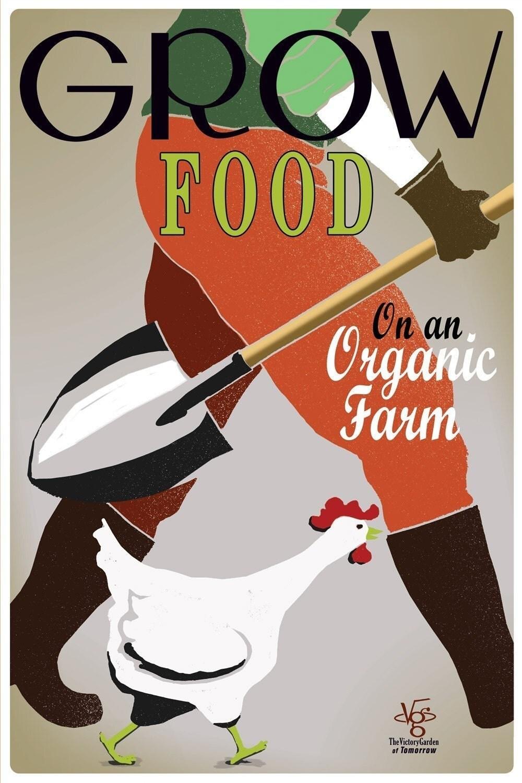 Grow Food poster art
