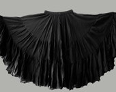 Beautiful Black  25yd pure Cotton Skirt