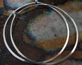 Latina Bombshell Hoops / Sterling Silver Earrings