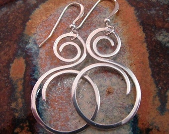 Fine Silver / Sterling Silver Earrings