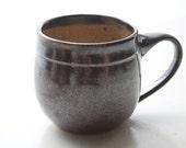 French Press Coffee Mug: Wheel-Thrown Cup