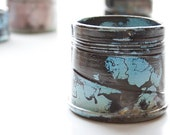 Hand-poured Candle in Raku