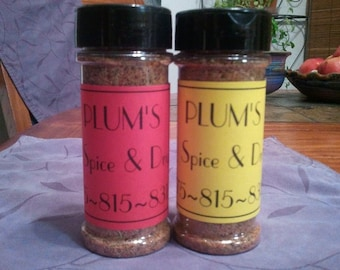 Seasoning/Dry Rub - Old Family Recipe - 5 oz bottle