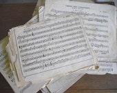 French Vintage Sheet Music....