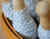 bakers twine-pale blue and white (25 yds)