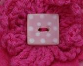 Petite Felt Flower Brooch- Pretty Pink