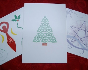 Yule Greeting Cards Assorted Set of 3