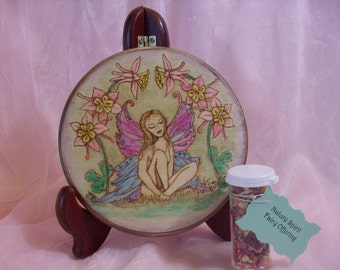 Made to order Faerie Magick Litha Summer Solstice Altar Tile/Home Decor