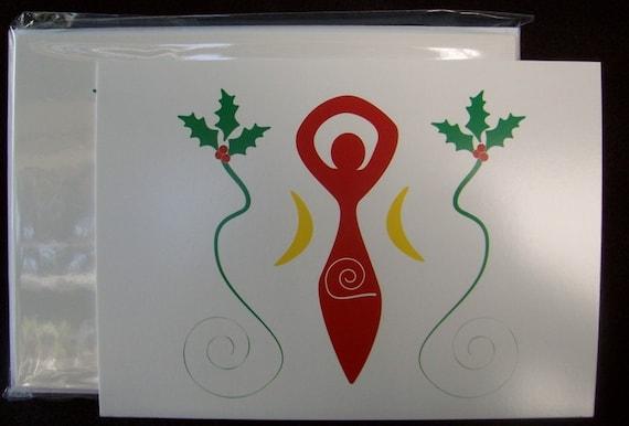 Goddess Yule Cards Set of 13