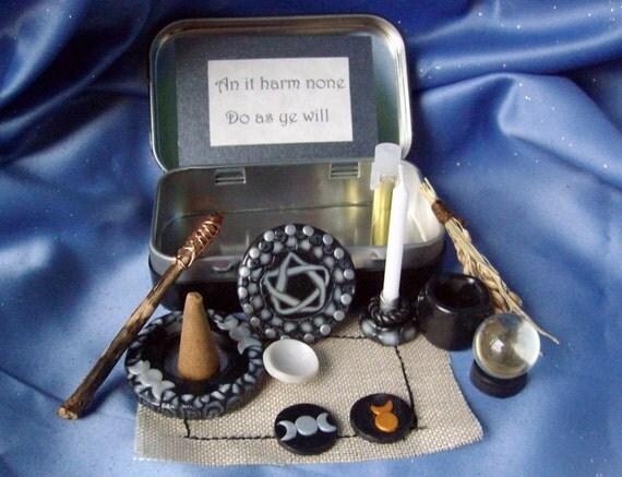 Made to order Pocket Travel Altar