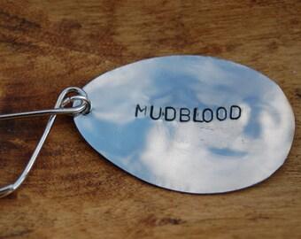 Mudblood key ring