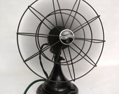 Industrial Westinghouse Master Aire Desk Fan WORKING 1930s Electric Vintage