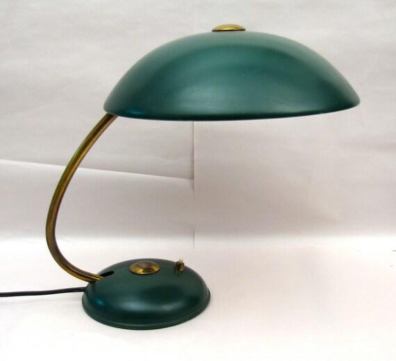 Vintage Industrial Desk lamp 1930s French Deco