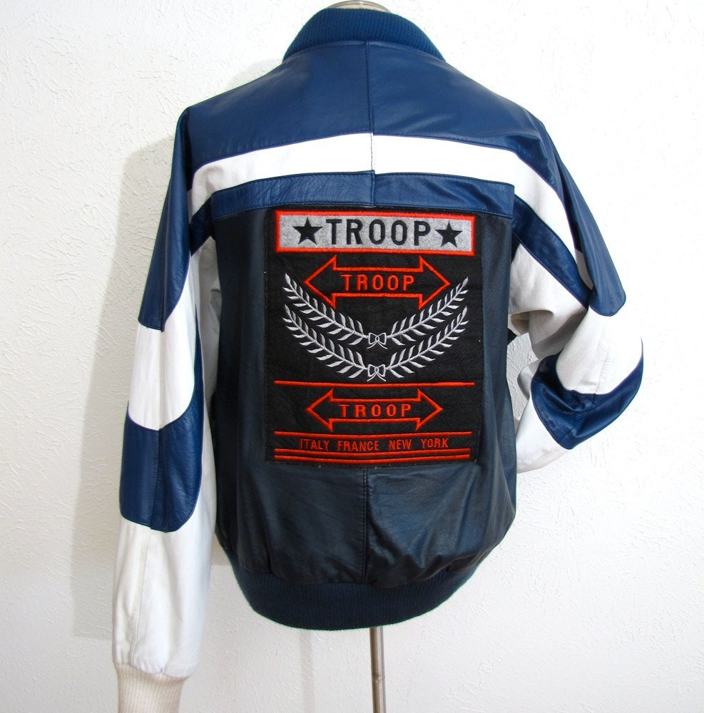 Leather jackets in the 80s