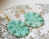 "Verdigris Earrings ""The Road Less Traveled By"""