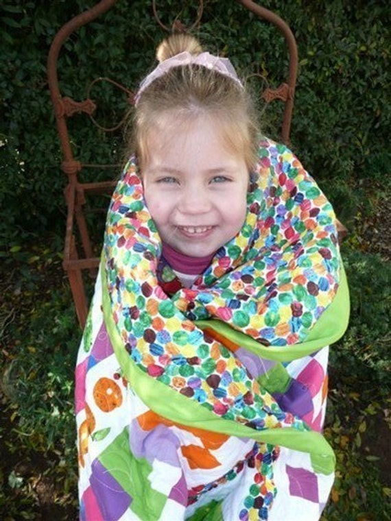 So Hungry Very Hungry Caterpillar Quilt Pdf Sewing