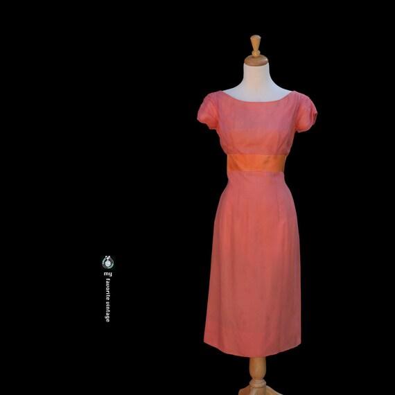 Vintage Sheer Cocktail Dress