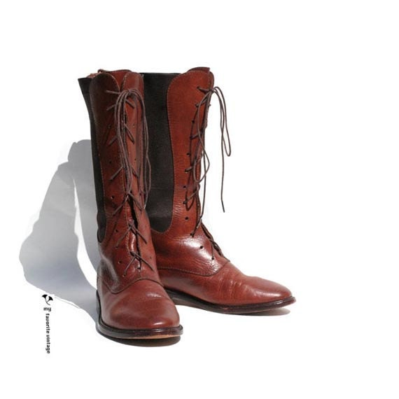 Vintage COLE HAAN Brown Leather Boots 6.5