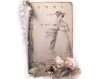 Emma Literature Journal, Jane Austen Journal,  Journaling Jane, Jane Austen Regency Journal, Jane Austen Diary, Gifts For her