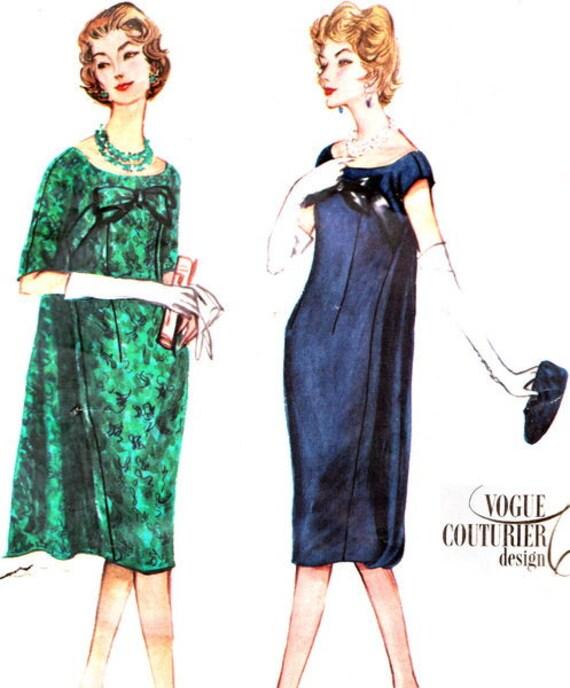 Vintage Sewing Pattern 1950s Vogue Couturier Design 136