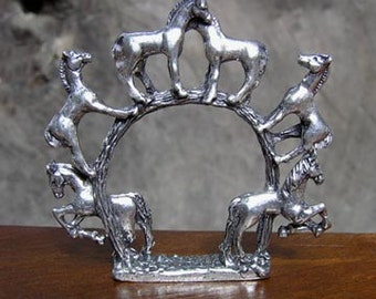 Horse Napkin Rings Set of 4
