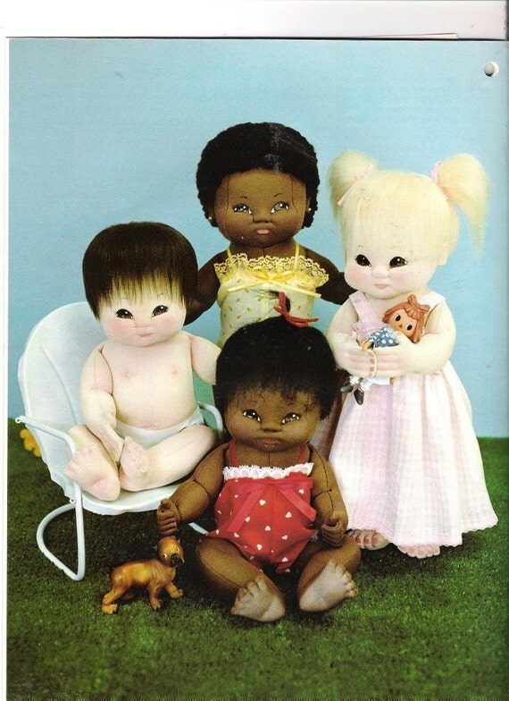 Vintage Soft Sculpture Miss Martha Doll Pattern